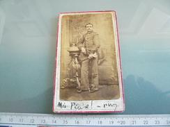 Foto Militare - Soldato In Posa - Foto Antica - Guerra, Militari