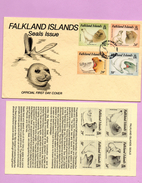 FALKLAND ISLANDS (4 Valeurs  Faune ) - Timbres