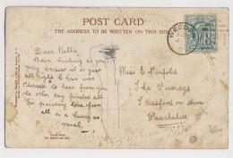 AJ51 Genealogy - Pinfold, Stratford On Avon - Weedon Duplex Postmark - Genealogia