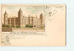 CAPMARTIN N° 40 - Château De Ferrières - Belle Carte Style Art Nouveau - Dos Simple - 2 Scans - Publicité