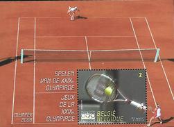 Belg. 2008 - COB N° 3799 ** - JO De Peking (Tennis) - Bloc 157 - Nuevos