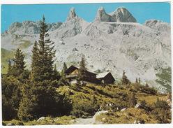 LINDAUER HÜTTE, 1744 M Mit Drei Türme, 2830 M -  (Vorarlberg, Austria) - Schruns