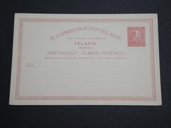 ISLANDE - Entier Postal Non Voyagé - A Voir - L 5998 - Entiers Postaux