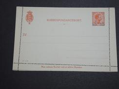 DANEMARK - Entier Postal Surchargé Non Voyagé - A Voir - L 6000 - Interi Postali
