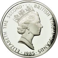 BRITISH VIRGIN ISLANDS, Elizabeth II, 20 Dollars, 1985, Franklin Mint, KM 71 - British Virgin Islands