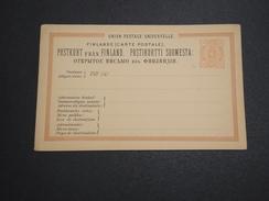 FINLANDE - Entier Postal Non Voyagé - A Voir - L 6006 - Finlande