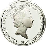 BRITISH VIRGIN ISLANDS, Elizabeth II, 20 Dollars, 1985, Franklin Mint, KM 68 - British Virgin Islands
