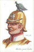 Cpa Illustrateur - Dupuis – Chevalier Garde ( Russe ) Cachet «  Train Sanitaire «  Au Verso - Dupuis, Emile