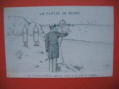 """CPA  La Flotte Du Kaiser     De  """" Chaz"""" - Satiriques"""