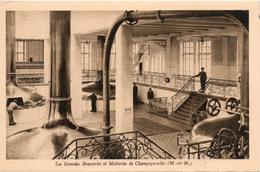 54. Champigneulles. Les Grandes Brasseries Et Malteries. Vue Interieure De La Salle à Brasser - Andere Gemeenten