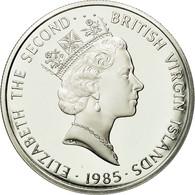 BRITISH VIRGIN ISLANDS, Elizabeth II, 20 Dollars, 1985, Franklin Mint, KM 62 - British Virgin Islands