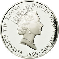 BRITISH VIRGIN ISLANDS, Elizabeth II, 20 Dollars, 1985, Franklin Mint, KM 60 - British Virgin Islands