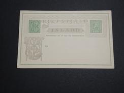 ISLANDE - Entier Postal Illustré Non Voyagé - A Voir - L 6009 - Entiers Postaux