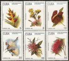 Cuba 3313/3318 ** MNH. 1993 - Nuevos