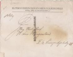 AUTRICHE--Sur Lettre--Divers Timbres Et Faciales--(voir Scan) - 1918-1945 1a Repubblica