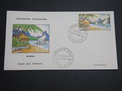 POLYNÉSIE - Enveloppe FDC En 1964 , Moorea - A Voir - L 6010 - FDC
