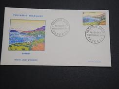 POLYNÉSIE - Enveloppe FDC En 1964 , Gambier - A Voir - L 6011 - FDC