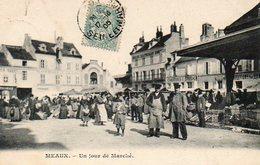 MEAUX 7712 Un Jour De Marche - Meaux