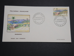 POLYNÉSIE - Enveloppe FDC En 1964 , Marquises - A Voir - L 6012 - FDC