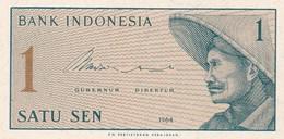 INDONESIA  1 SEN  1964  FDS - Indonesien