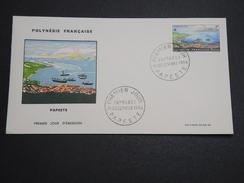 POLYNÉSIE - Enveloppe FDC En 1964 , Papeete - A Voir - L 6013 - FDC