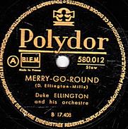 78 T. - 25 Cm - état B -  Duke ELLINGTON - MERRY-GO-ROUND - 78 G - Dischi Per Fonografi