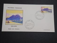 POLYNÉSIE - Enveloppe FDC En 1964 , Bora Bora - A Voir - L 6014 - FDC
