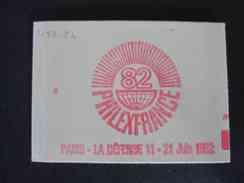 Carnet N° 2187- C4- Coin Daté11 10 81 - Uso Corrente