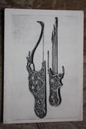 State Military Palace - Quiver - Arch (1628) - Old Soviet  Postcard 1958  Archery - Tir à L'Arc