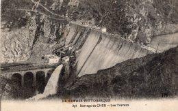 V6115 Cpa 23 Barrage Du Cher, Les Travaux - Unclassified