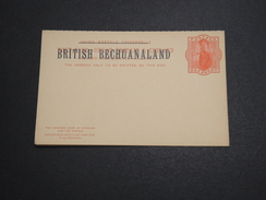 GRANDE BRETAGNE / BECHUANALAND - Entier Postal Surchargé Non Voyagé - A Voir - L 6023 - 1885-1895 Kronenkolonie