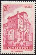 Monaco N°  169,** Cathédrale - 20c Rose-lilas - Monaco