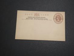 GRANDE BRETAGNE / BECHUANALAND - Entier Postal Surchargé Non Voyagé - A Voir - L 6024 - 1885-1895 Kronenkolonie