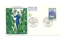 FDC France - Série Touristique - Eglise De Cilaos - Année 1960 - FDC