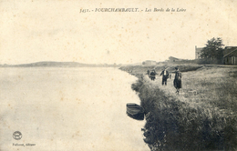 58 - Fourchambault - Les Bords De La Loire - Pecheurs - Autres Communes