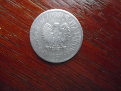 POLAND 1957  FIFTY  GROSZY Aluminium USED COIN In FAIR CONDITION. - Poland