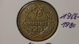 Lebanon - 1968 - 25 Piastres - KM 27 - VF - Libanon