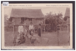 LAOS - MISSION EVANGELIQUE AU LAOS - B ( LEGER PLI ) - Laos