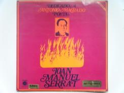 Joan Manuel Serrat - Dedicado A Antonio Machado Poeta - Vinyl Records