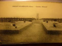 02   Origny-Ste- Benoîte  Armée Allemande   Cimetière - Guerra 1914-18