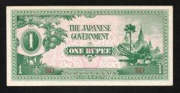 Banconota Myanmar (Burma) 1 Rupee 1942 - Myanmar
