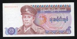 Banconota Myanmar (Burma) 35 Kyats 1986 - Myanmar
