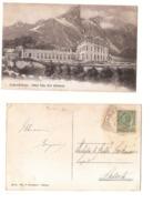 SEDICO - BRIBANO ( BELLUNO ) HOTEL VILLA PATT - EDIZ. P. BREVEGLIERI - 1910 - Belluno