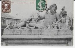 """1908 -  VIGNETTE """"TETE De MORT"""" De J. ALLEGOT à PARIS Sur CARTE SIGNEE ARMAND ALLEGOT Au DOS - Postmark Collection (Covers)"""