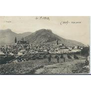 JNTP7764L-LFTD12724.Tarjeta Postal De JAEN.Edificios,arboles,montes,campo,iglesias Y VISTA PARCIAL DE JAEN - Jaén