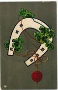 Bonne Année, Happy New Year, Horse Shoe, Fer A Cheval (pk32375) - Nouvel An