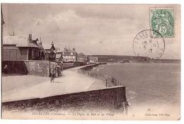 ASNELLES: La Digue De Mer Et Les Villas - Frankreich