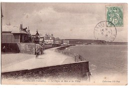 ASNELLES: La Digue De Mer Et Les Villas - France