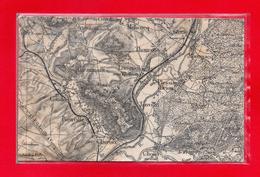 60-PLAN SUR TOILE REGION - THOUROTTE- JANVILLE - CLAIROIX - BIENVILLE - CHOISY AU BAC - CONDUN - MONTMACQ - MELICOCQ - Autres Communes