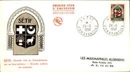 ALGERIE - Premier Jour Sétif - P21237 - Algérie (1924-1962)